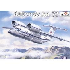 Amodel 1:144 Советский пассажирский самолет Ан-72. № 1410