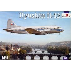 Amodel 1/144 Советский пассажирский самолет Ил-12. № 1443