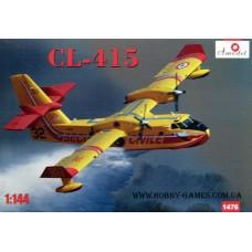 Amodel 1/144 Канадский многоцелевой самолет-амфибия Canadair (Bombardier) CL-415. № 1476