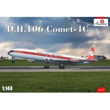 Amodel 1/144 Пассажирский лайнер de Havilland DH.106 Comet. № 1477