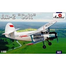 Amodel 1:144 Советский лёгкий транспортный самолёт АН-2. № 1422