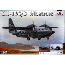 Amodel 1/144 Американский самолет-амфибия Grumman HU-16C/D Albatross (+ декаль UF-1). № 1423-01