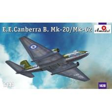 Amodel 1/144 Средний тактический бомбардировщик Canberra Mk20/Mk62. № 1428