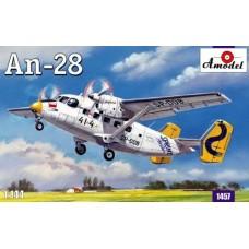 Amodel 1/144 Советский пассажирский самолёт Ан-28. № 1457