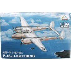 Mini Hobby Model 1:144 Американский истребитель Lockheed P-38J Lightning. № 80401
