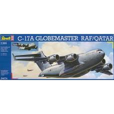 Revell 1/144 Американский стратегический военно-транспортный самолёт Boeing C-17A Globemaster RAF/Qatar. № REV_04674