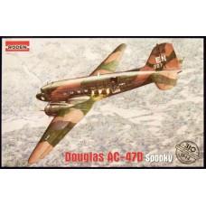 Roden 1/144 Американский тяжелый ударный самолет Douglas AC-47 Spooky. № ROD_310