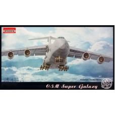 Roden 1/144 Американский стратегический военно-транспортный самолёт Lockheed C-5M Super Galaxy. № ROD_332