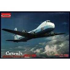 Roden 1/144 Британский среднемагистральный грузопассажирский самолет Aviation Traders ATL-98 Carvair. № 305