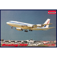 "Roden 1/144 Американский авиалайнер Boeing 720 ""United"". № ROD_320"