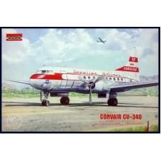 Roden 1/144 Американский пассажирский самолёт Convair CV-340 Hawaiian Airlines. № 334