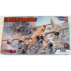 Hobby Boss 1/32 Американский тяжёлый бомбардировщик Consolidated B-24D Liberator. № 83212