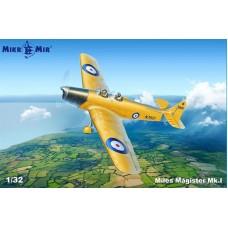 MikroMir 1:32 Британский учебно-тренировочный самолет Miles Magister Mk.I. № 32-002