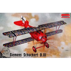 Roden 1/32 Германский истребитель Siemens Schuckert D.III. № 610