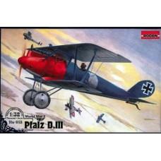 Roden 1/32 Германский истребитель Pfalz D.III. № 613