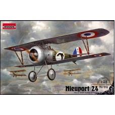 Roden 1/32 Французский истребитель-биплан Nieuport 24. № 618