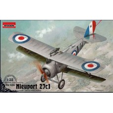 Roden 1/32 Французский истребитель-биплан Nieuport 27c1. № ROD_630