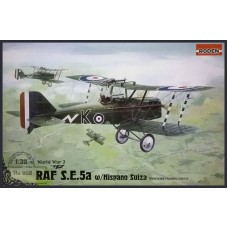 Roden 1:32 Британский истребитель RAF S.E.5a c двигателем Hispano Suiza. № 602