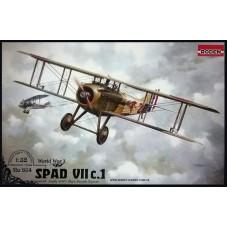 Roden 1/32 Французий истребитель-биплан SPAD VII c.1. № ROD_604