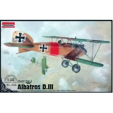 Roden 1/32 Германский истребитель-разведчик Albatros D.III. № 606
