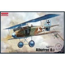 Roden 1/32 Германский биплан-истребитель Albatros D.I. № 614