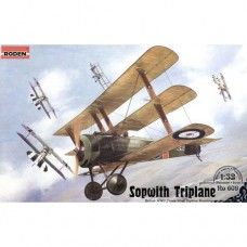 Roden 1/32 Британский истребитель Sopwith Triplane WWI. № ROD_609