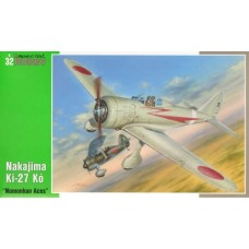 "Special Hobby 1:32 Японский истребитель Nakajima Ki-27 K (Nate) ""Nomonhan Aces"". № 32033"