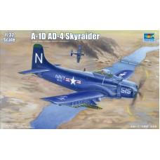 "Trumpeter 1/32 Американский штурмовик Douglas A-1D AD-4 ""Skyraider"" (Korean War). № TRU_02252"