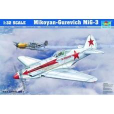 Trumpeter 1/32 Советский истребитель МиГ-3. № 02230