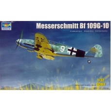 Trumpeter 1/32 Немецкий истребитель Messerschmitt Bf.109G-10. № TRU_02298