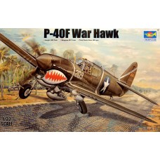 "Trumpeter 1/32 Американский истребитель Curtiss P-40F ""Warhawk"". № 03227"