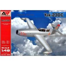A&A Models 1/48 Румынский учебно-тренировочный самолет Як-23DC (doubla comanda). № 4802