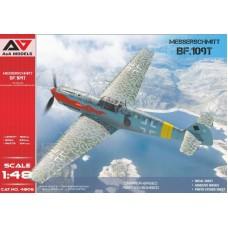 A&A Models 1:48 Немецкий истребитель-бомбардировщик Messerschmitt Bf.109T1/T2. № 4806