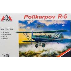 AMG 1/48 Советский разведчик-бомбардировщик Поликарпов Р-5. № 48802