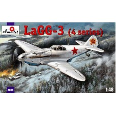 Amodel 1/48 Советский истребитель Лагг-3 тип 4. № 4809