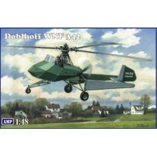 AMP 1/48 Немецкий легкий разведывательный вертолет Doblhoff WNF 342. № 48008