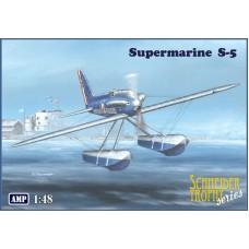 AMP 1/48 Британский гоночный гидросамолет Supermarine S-5. № 48009