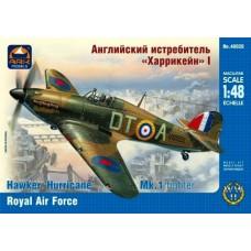 Ark Models 1/48 Британский истребитель Hawker Hurricane Mk.1A. № ARK_48026