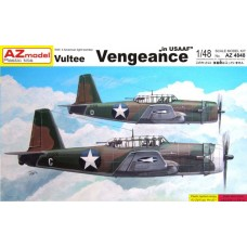 AZmodel 1/48 Американский пикирующий бомбардировщик Vultee A-31 Vengeance. № AZM_4848