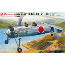 "AZmodel 1/48 Японский автожир Kayaba ""KO-GO"" Ka-2. № AZ4808"
