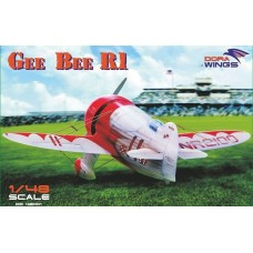 Dora Wings 1/48 Американский гоночный самолёт Gee Bee Super Sportster R-1. № 48002