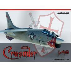 Eduard 1/48 Американский палубный многоцелевой истребитель Vought F-8E Crusader (Limited edition). № 11110