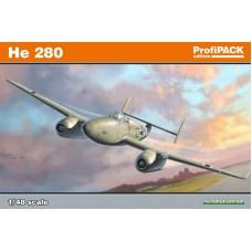 Eduard 1/48 Немецкий реактивный истребитель Heinkel He-280. (Profipack). № 8068