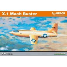 "Eduard 1/48 Американский экспериментальный самолёт Bell X-1 ""Mach Buster"" (Profipack). EDU_8079"
