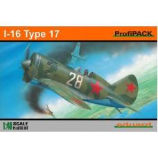 Eduard 1/48 Советский истребитель И-16 Тип 17 (Profipack). № 8146