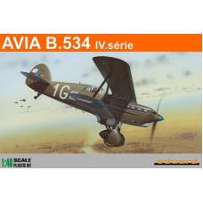 Eduard 1/48 Чехословацкий истребитель Avia B-534 IV. (ProfiPACK). № EDU_8192