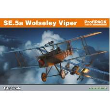 Eduard 1/48 Британский истребитель RAF S.E.5 c двигателем Wolseley Viper (Profipack). № 82131