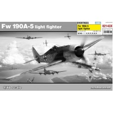 Eduard 1/48 Немецкий истребитель-бомбардировщик Fw.190A-5 (Overtrees). № EDU_82143X