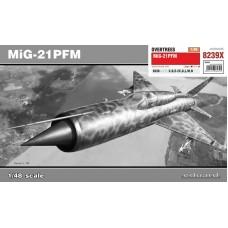 Eduard 1/48 Советский истребитель-перехватчик МиГ-21ПФМ (Overtrees). № EDU_8239X