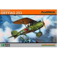 Eduard 1/48 Германский истребитель Albatros D. III OEFFAG 253 (Profipack). № 8242